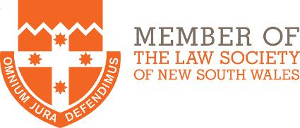 Member of Law Society of New South Wales